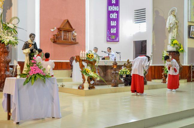 Lễ kính thánh Martino - Bổn mạng giáo họ Martino giáo xứ Russeykeo 2020