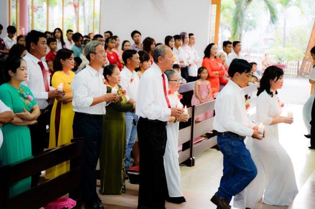 Lễ kính Thánh Gia Thất - Kỷ niệm hôn phối 2020 - Giáo xứ Russeykeo